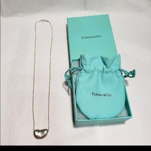 Tiffany and co Large Bean necklace